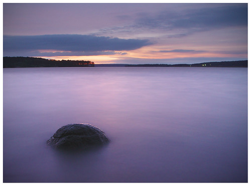 longexposure sunset water lithuania kaunas kaunomarios kopus
