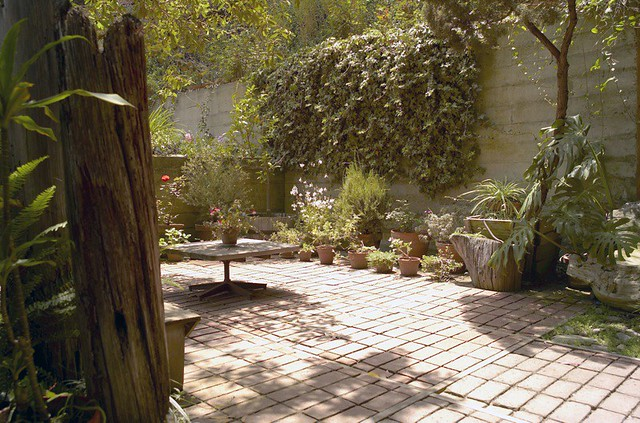 ... Eames House (Case Study House) Side Patio   By An Amateur