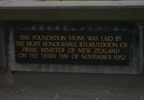 National Library of New Zealand Foundation Stone | by A-dit-ya