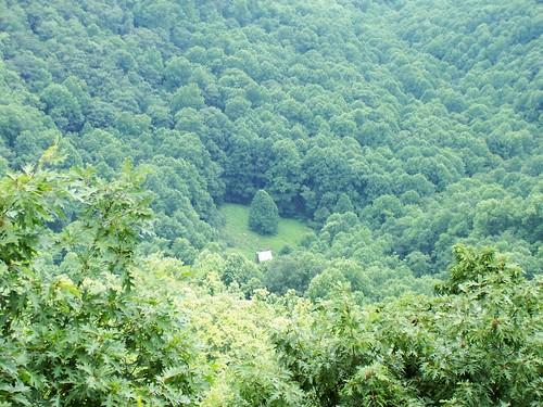park blue rock cabin north ridge parkway carolina wildcat doughton caudill