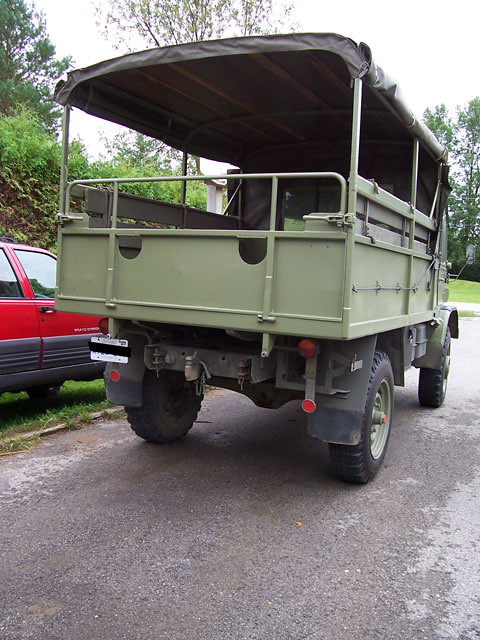 1963 Mercedes Benz Unimog 404s - rear shot | This is the rea… | Flickr