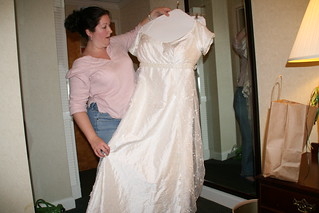 Showing off the dress | by Elise Robinson