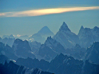 K2 and The Ogre (left to right) | by Dale Cottam