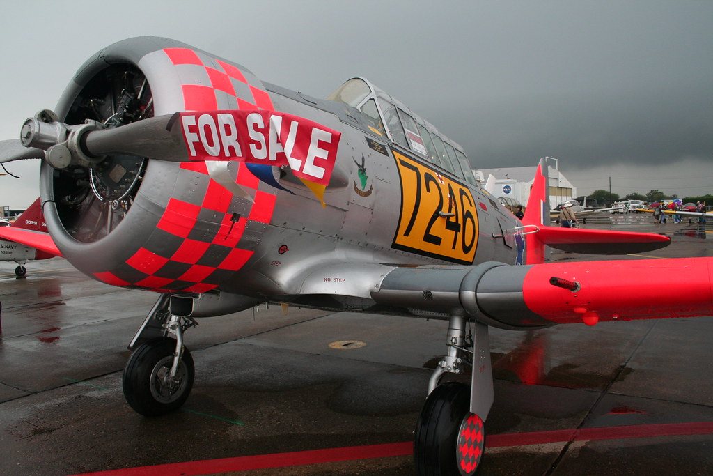 For Sale - Warbird, Slightly Used, New Paint   Kevin Trotman
