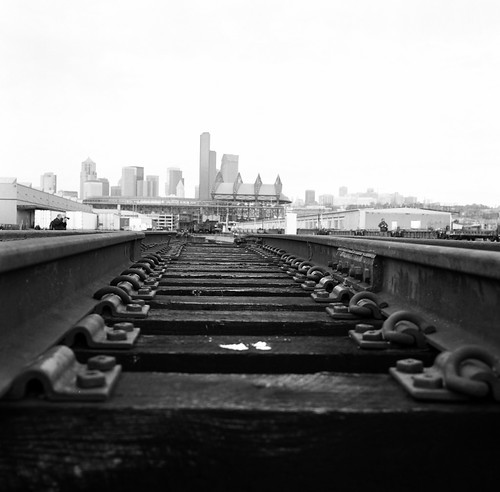 Train Tracks of Seattle | by matildaben