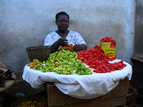 Woman Trader In Accra's Makola Market, Ghana | by transaid images