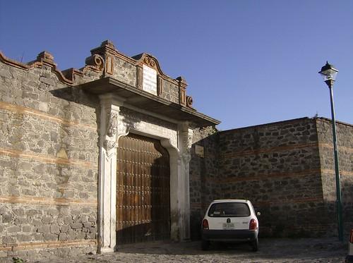 Puertas y ventanas de Puebla.