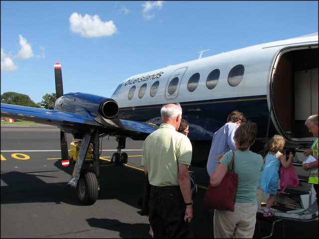 Plane to Jersey