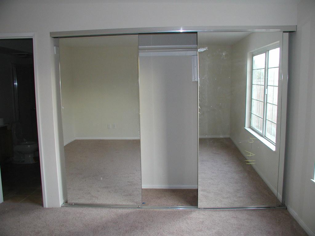 Master Bedroom Mirrored Closet Doors After Pictures Showin Flickr