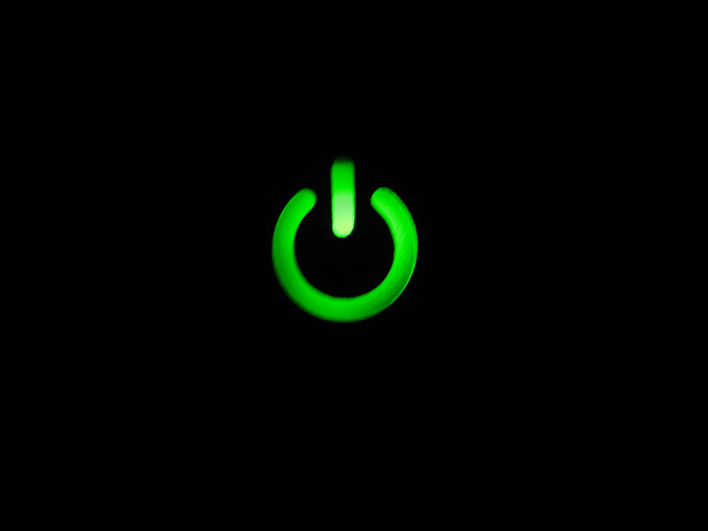 Xbox 360 Power Button | The power button to my Xbox 360