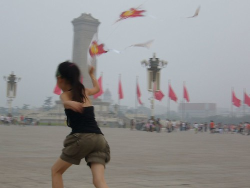 Kite Flying at Tiananmen Square | by Francie Z