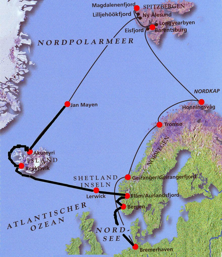 Nordpolarmeer Karte.E Isl Karte Nordpolarkreis Juergen Kurlvink Flickr