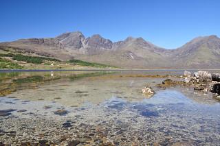 Bla Bheinn and Clach Glas from Loch Slapin