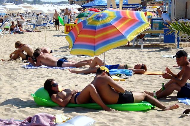 Sunny Beach, Mar Negro