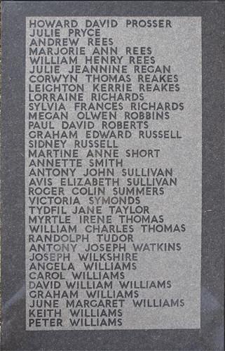 Aberfan Memorial Cross (bottom vertical)