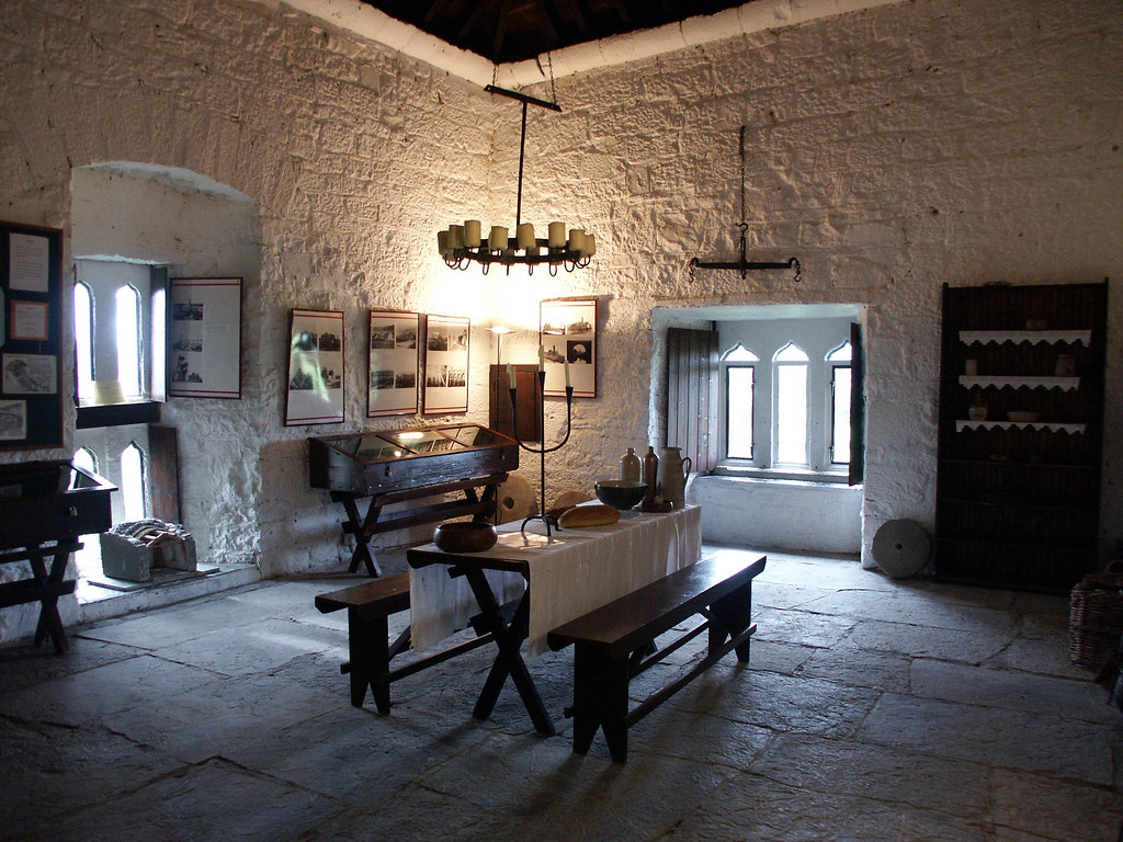 Dysert Castle - interior by malona