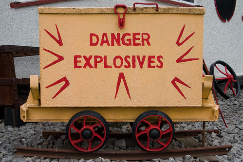 Danger! Explosives! | by Krypto