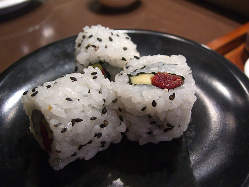 Sundried Tomato and Avocado Sushi Roll - Sakura Kaiten Sushi | by avlxyz