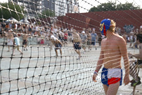 Dodge Ball at McCarren Park Pool #3 | by Luke Redmond