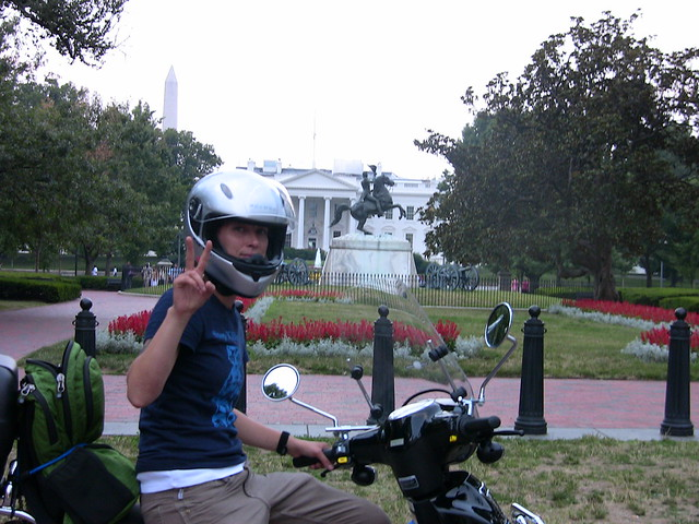 Peace Scooter leaves D.C.