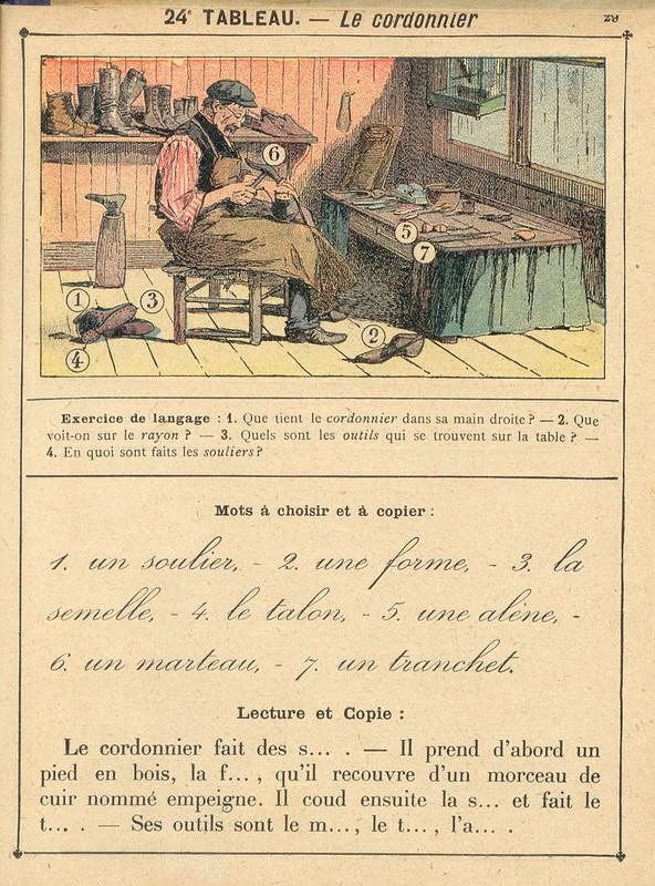vocab24 cordonnier