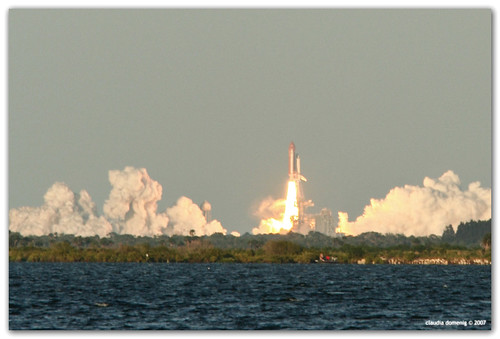 Space Shuttle Atlantis Lifts Off by Fraggle Red