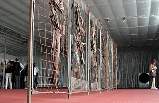 documenta 12 | Dmitri Gutov / Fence | 2007 | Aue-Pavillon (near entrance) | by A-C-K