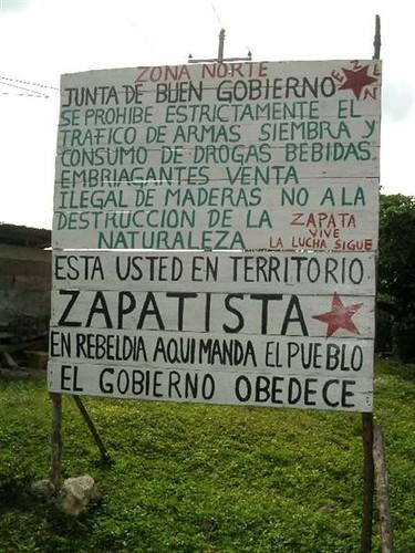 Tomada Está Territorio ZapatistaFoto Carr… Flickr En Usted Una mvnwO8N0
