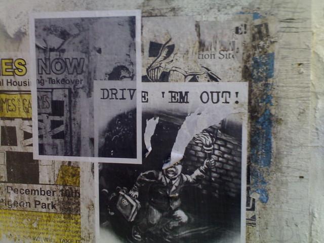 Drive 'Em Out (Graffiti)