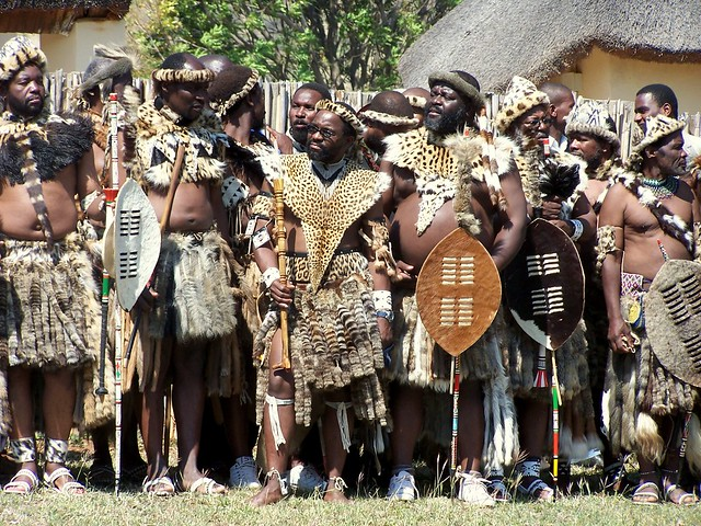 The Kings Men at Zulu Reed Dance
