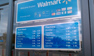 Wal Mart Tipton Iowa Store Hours Notice How They Are