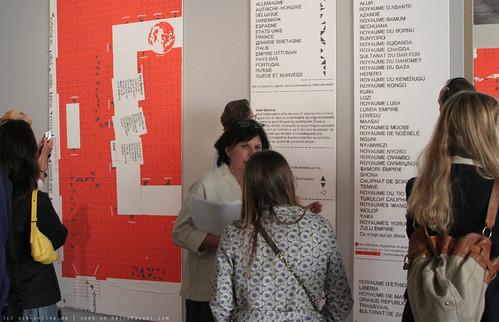 documenta 12 | Dierk Schmidt / Die Teilung der Erde - Tableaux zu rechtlichen Synopsen der Berlin Afrika-Konferenz | 2006-2007 | by A-C-K