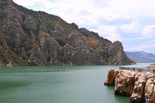 Buffalo Bill Dam - Cody, Wyoming | by cagrimmett