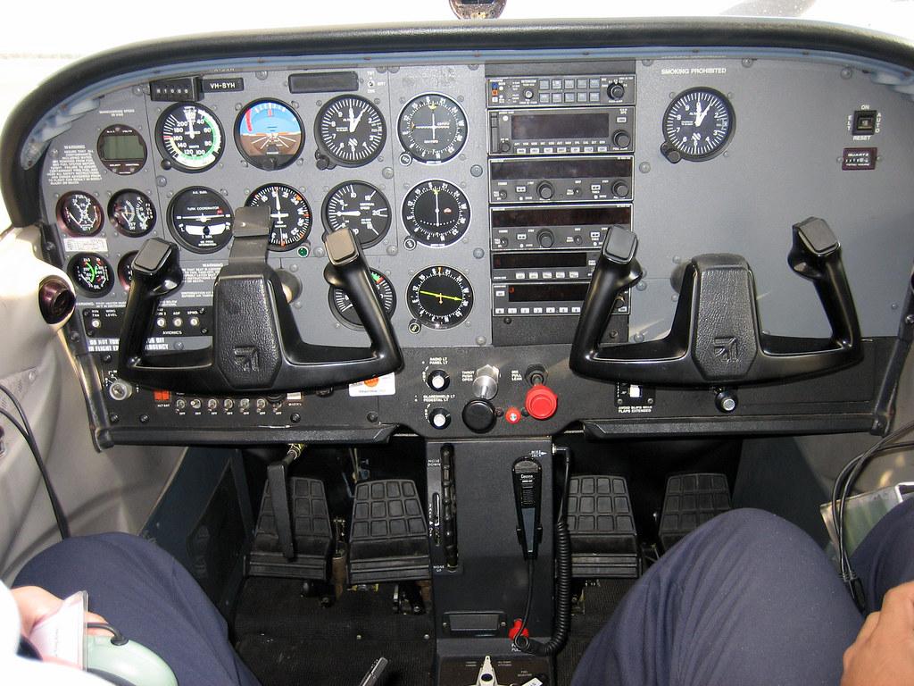 Cessna 172 Cabin