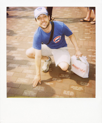 Rub this brick and the Cubs will win today | by unlikelymoose