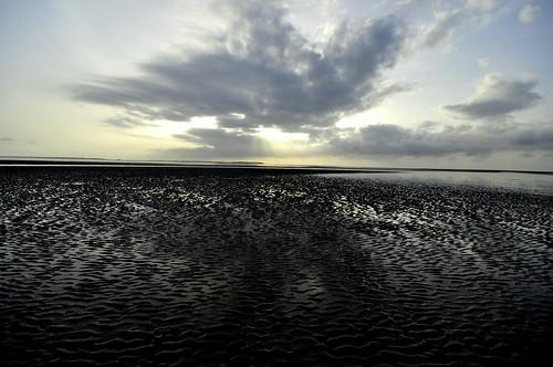 clouds sunrise silver walking island morninglight beth bluesky shore lowtide hiltonhead myfavoritebeach nvds