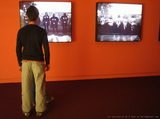 documenta 12 | Mary Kelly / Love Songs: Flashing Nipple Remix | 2005 | Neue Galerie | by A-C-K