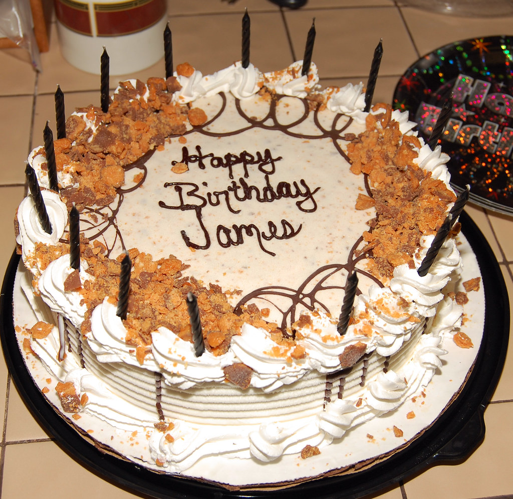 Happy Birthday James Cakes Cards Wishes