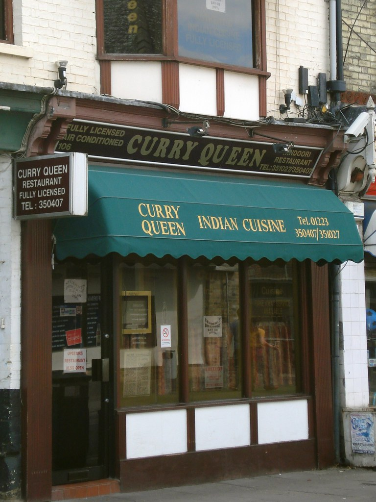 Curry Queen Mill Road Cambridge Indian Restaurant On Mil