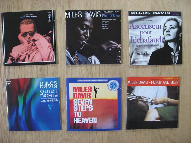 6 Miles Davis CDs (4)