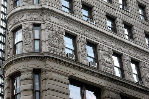 NYC - Flatiron Building (detail) | by wallyg