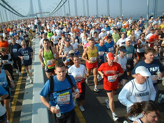 Marathon de New York : Verrazano Bridge | by Martineric