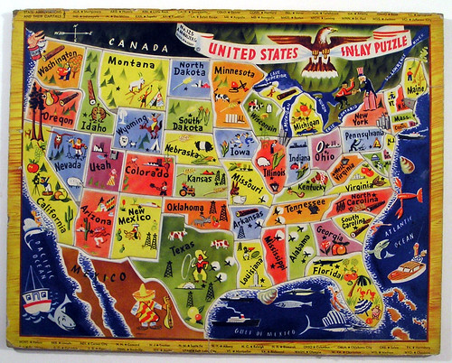 A.M. Walzer Co. United States Inlay Puzzle | by Marxchivist