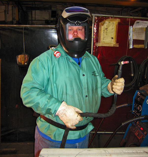 Its a welder's life | Keith...One of the welders in the ...