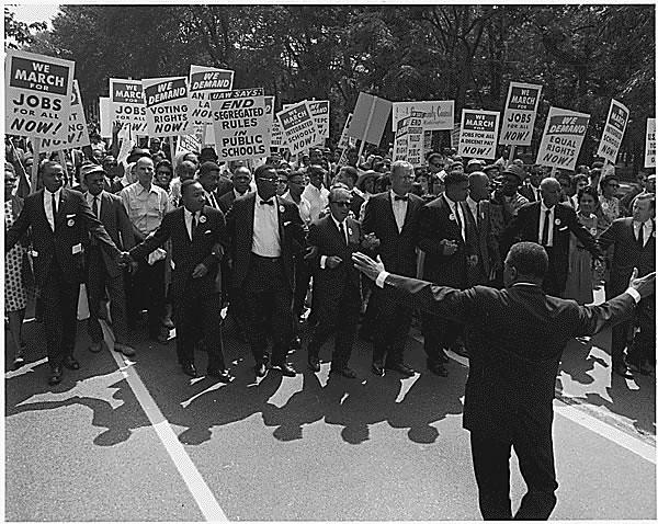 Public Domain: 1963 March on Washington (NARA)