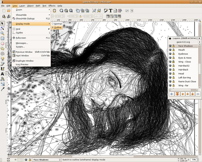 inkscape-0.44-outlineview
