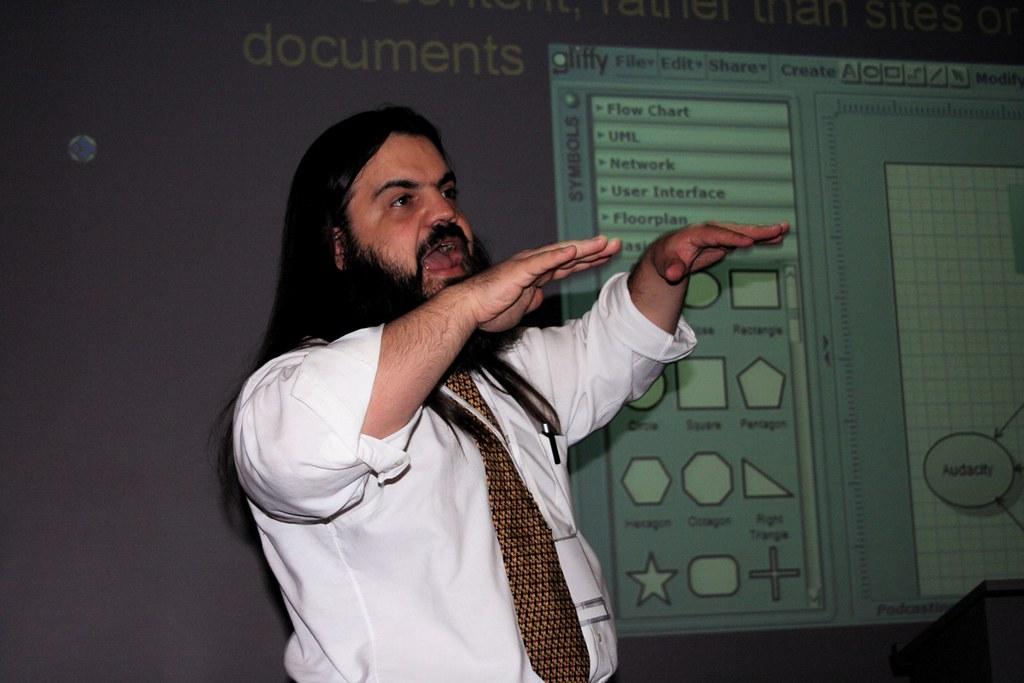Bryan Alexander Levitates Web 2.0