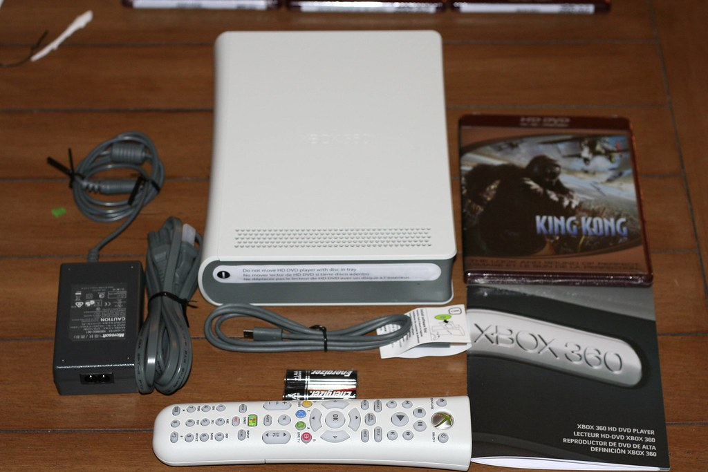 Xbox 360 HD-DVD Drive: Box unpacked/unwrapped | Everything t