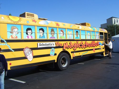 Image result for the magic school bus