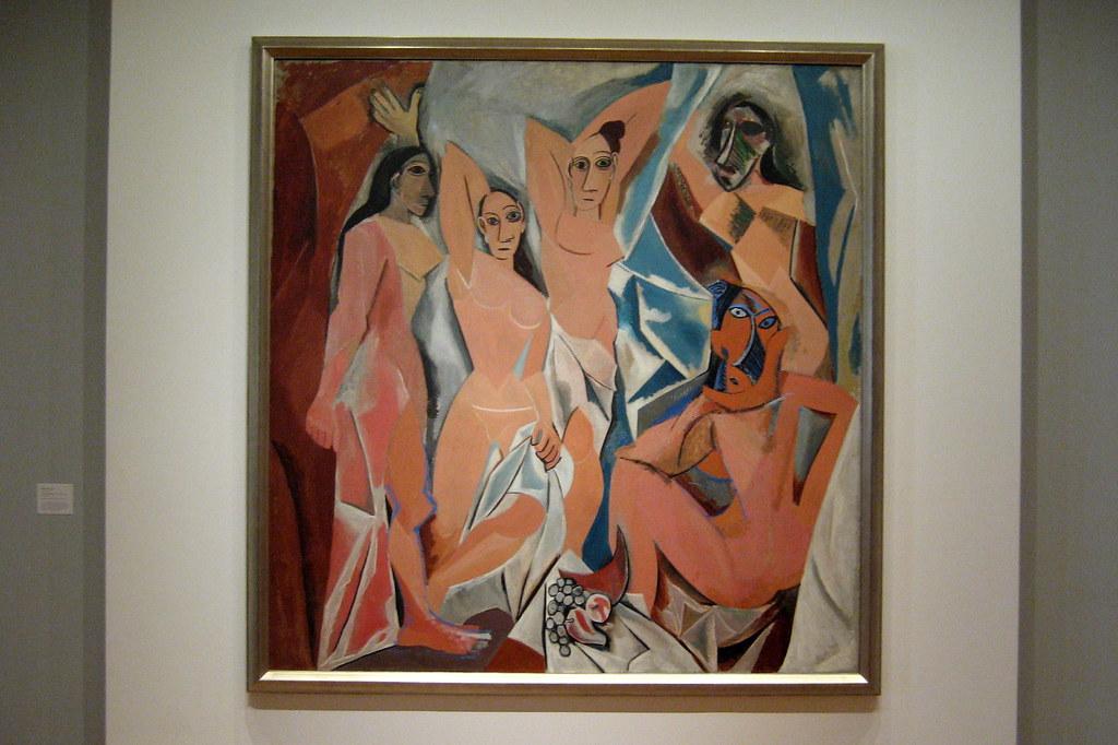 Nyc Moma Pablo Picasso S Les Demoiselles D Avignon Flickr